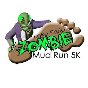 Sandusky Ohio Lake Eerie Zombie Mud Run 2015