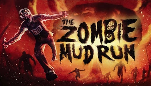 East Windsor New Jersey The Zombie Mud Run 2016