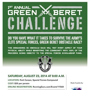 Colorado Green Beret Challenge