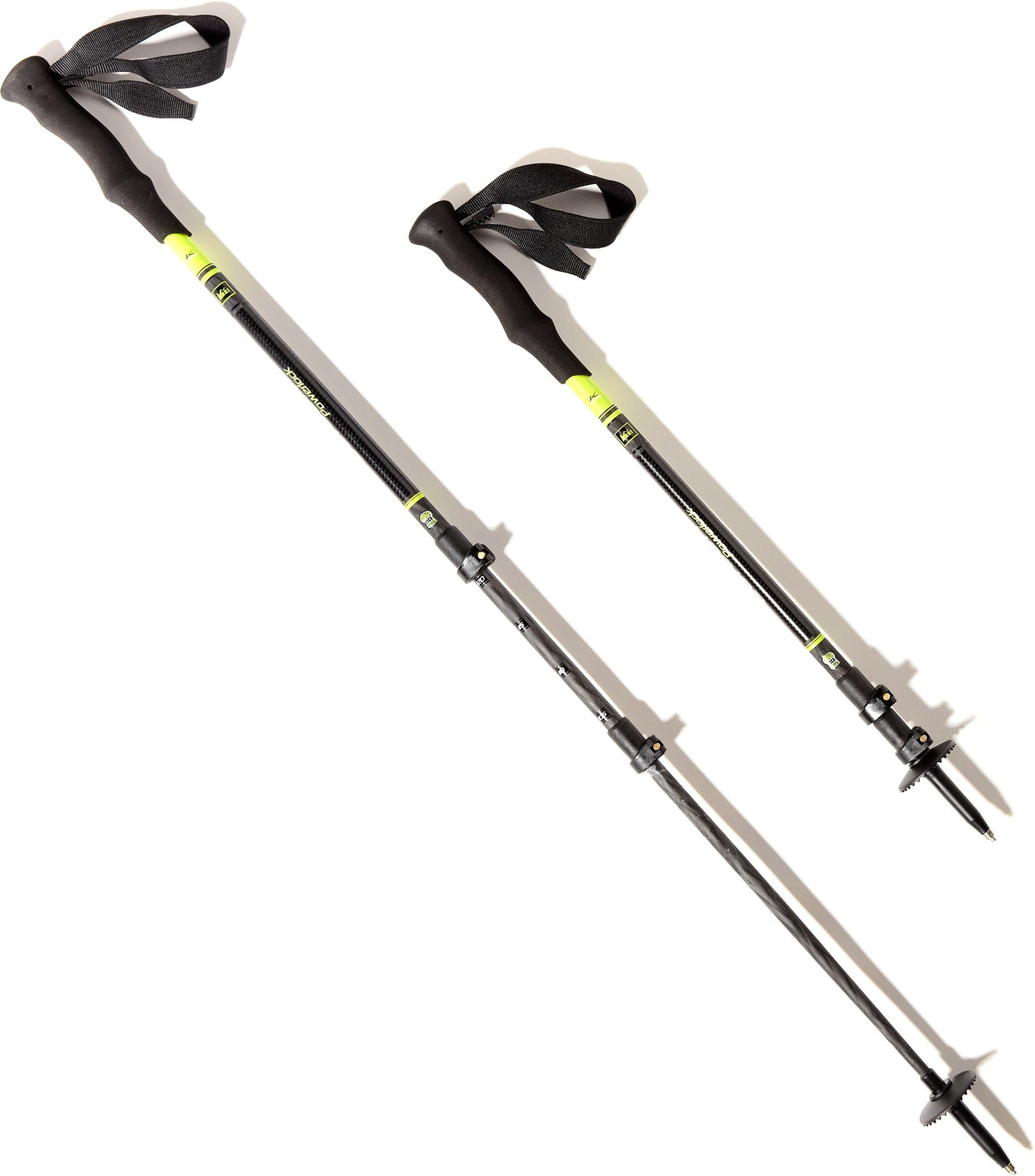 REI Carbon Power Lock Trekking Poles