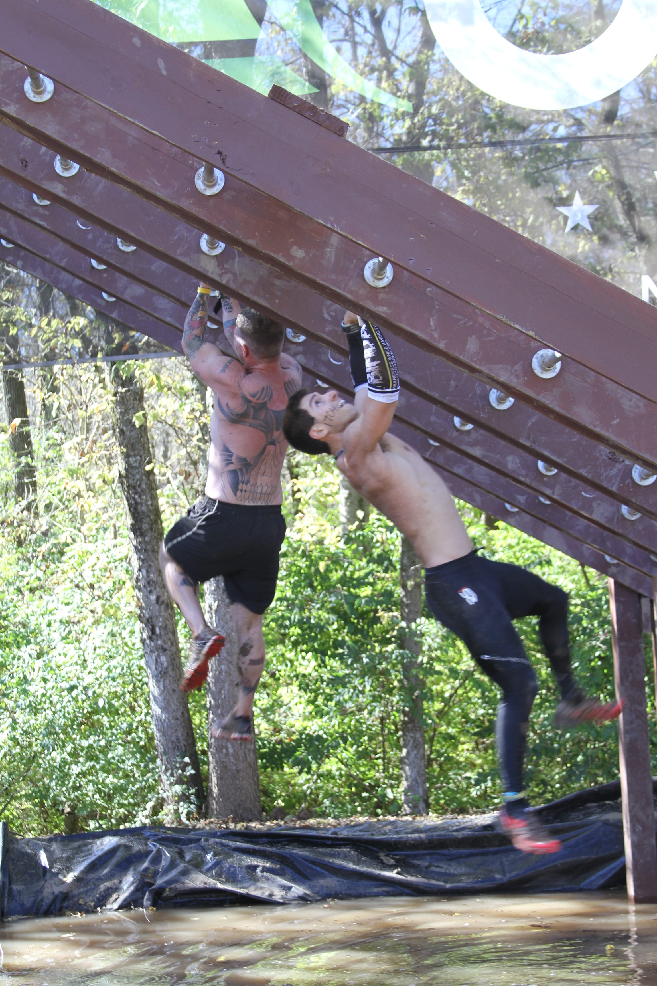 Rusty and Kevin at OCR World Chamipionships 1