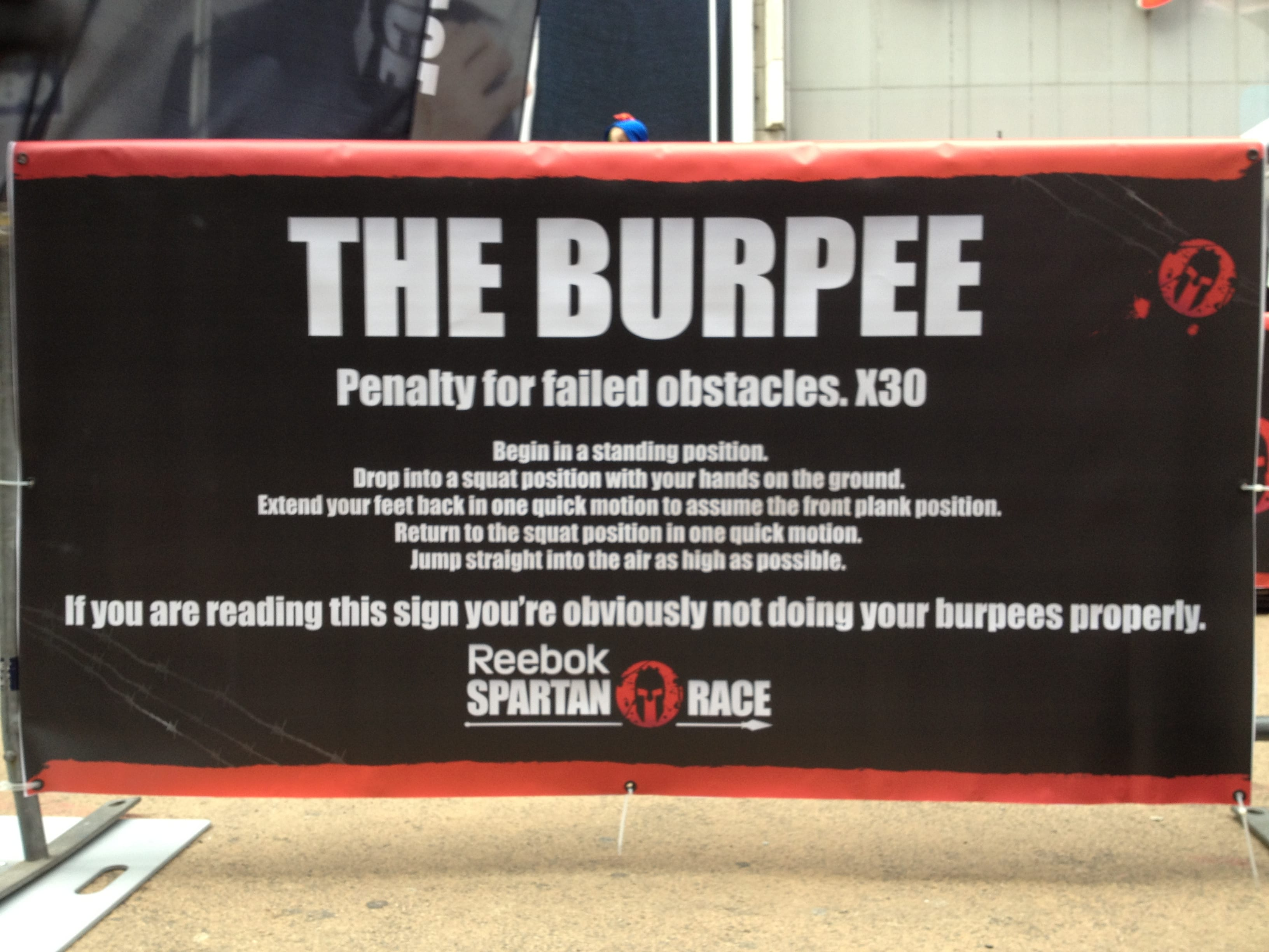 How To Pick A Fight With A Spartan Let S Talk Burpees