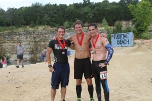July 18: Evan Perperis finishes 2nd in Fugitive Run.