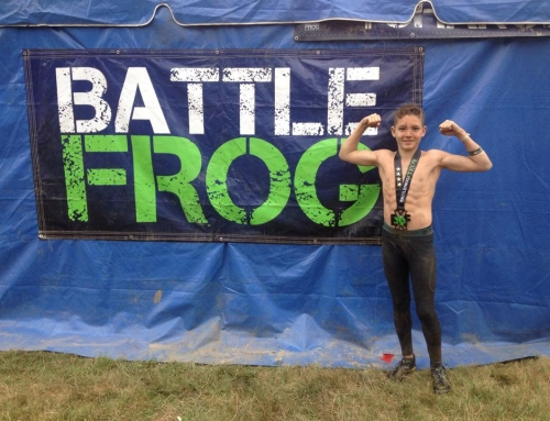 14-Year Old Completes 4 Laps at BattleFrog Pittsburgh