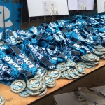 Savage Race debuted a flashy new medal for 2015