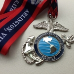 Marine Corps Marathon; Iconic race and awesome medal (the globe spins!)