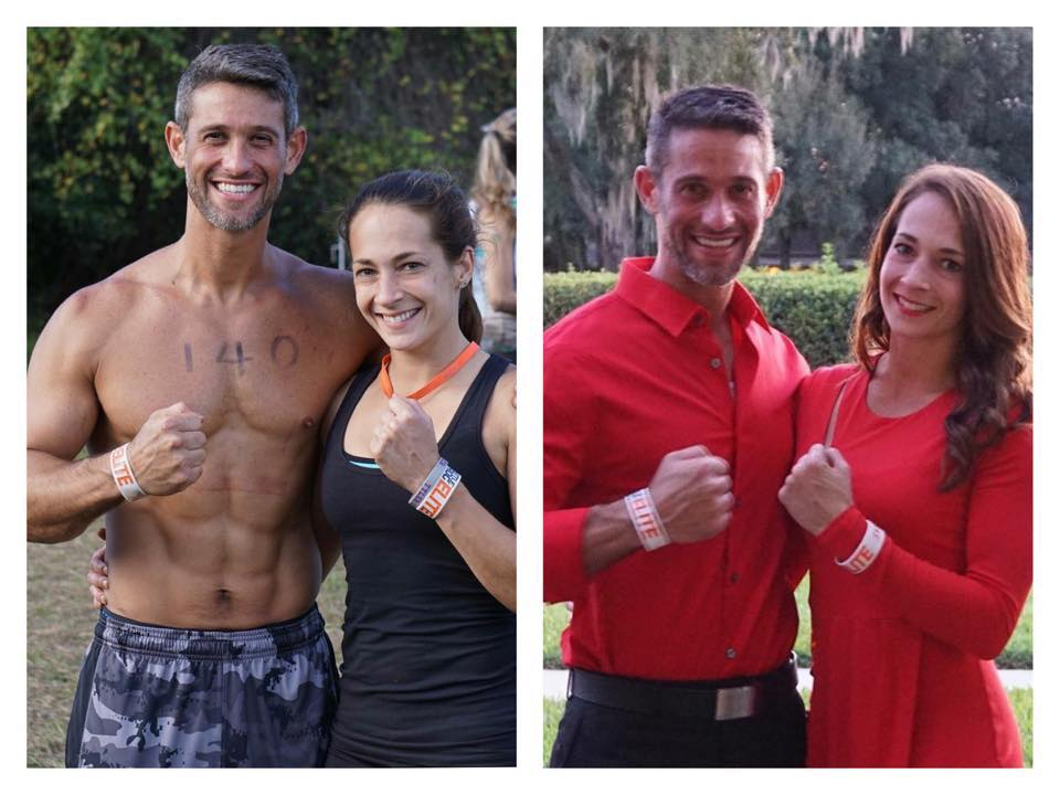 OCR power couple, OCR United athlete Dustin Radney and CTG Pro Team Member Ashley Samples.