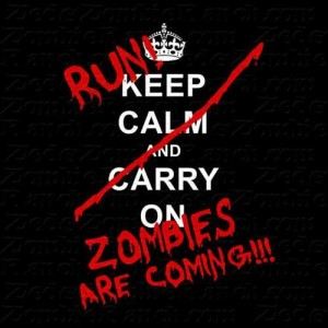 Zombie Run Running Scared