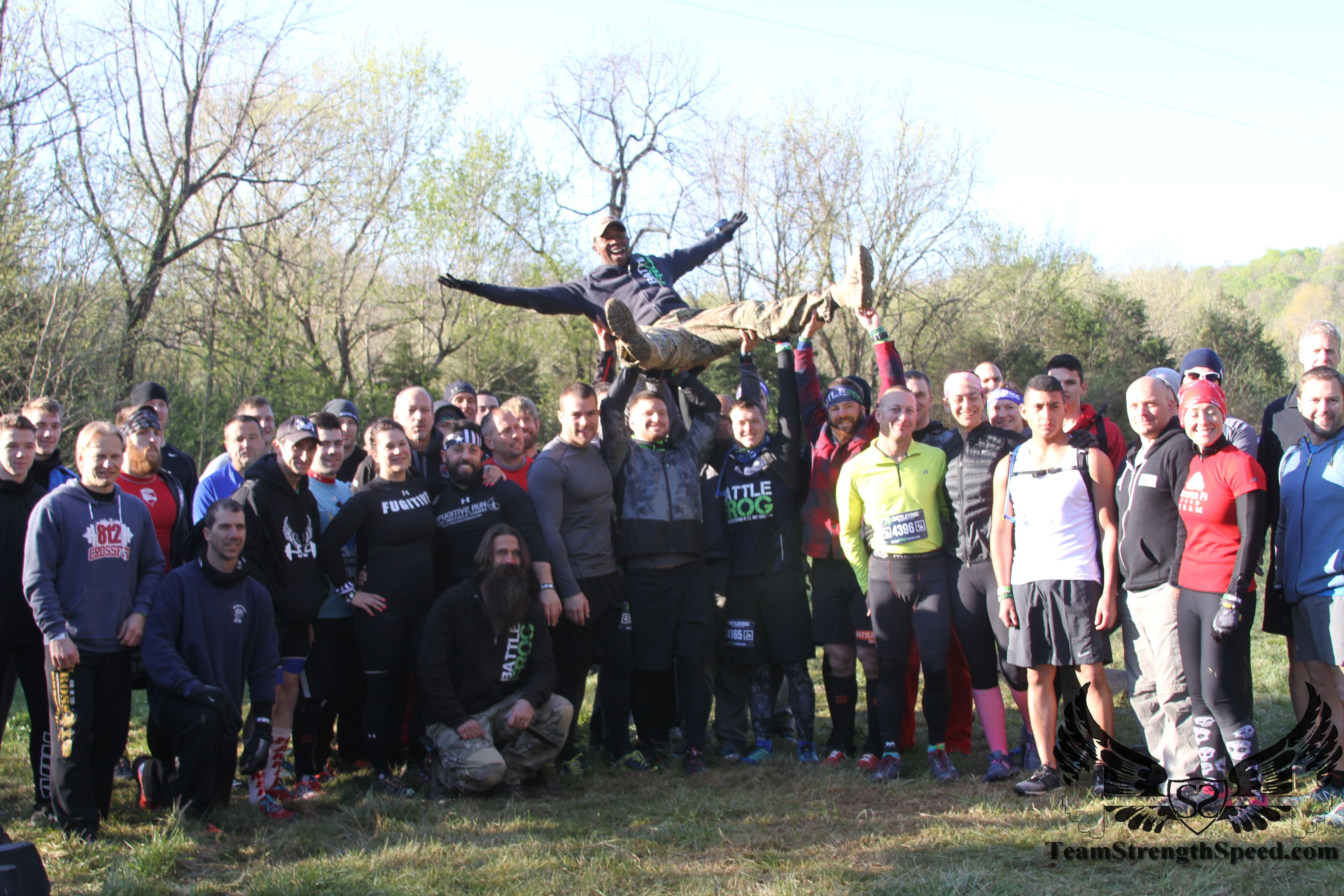 The new community? BFX Nashville athletes get ready to take the course.