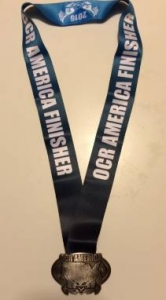 OCR America Buckle and Ribbon