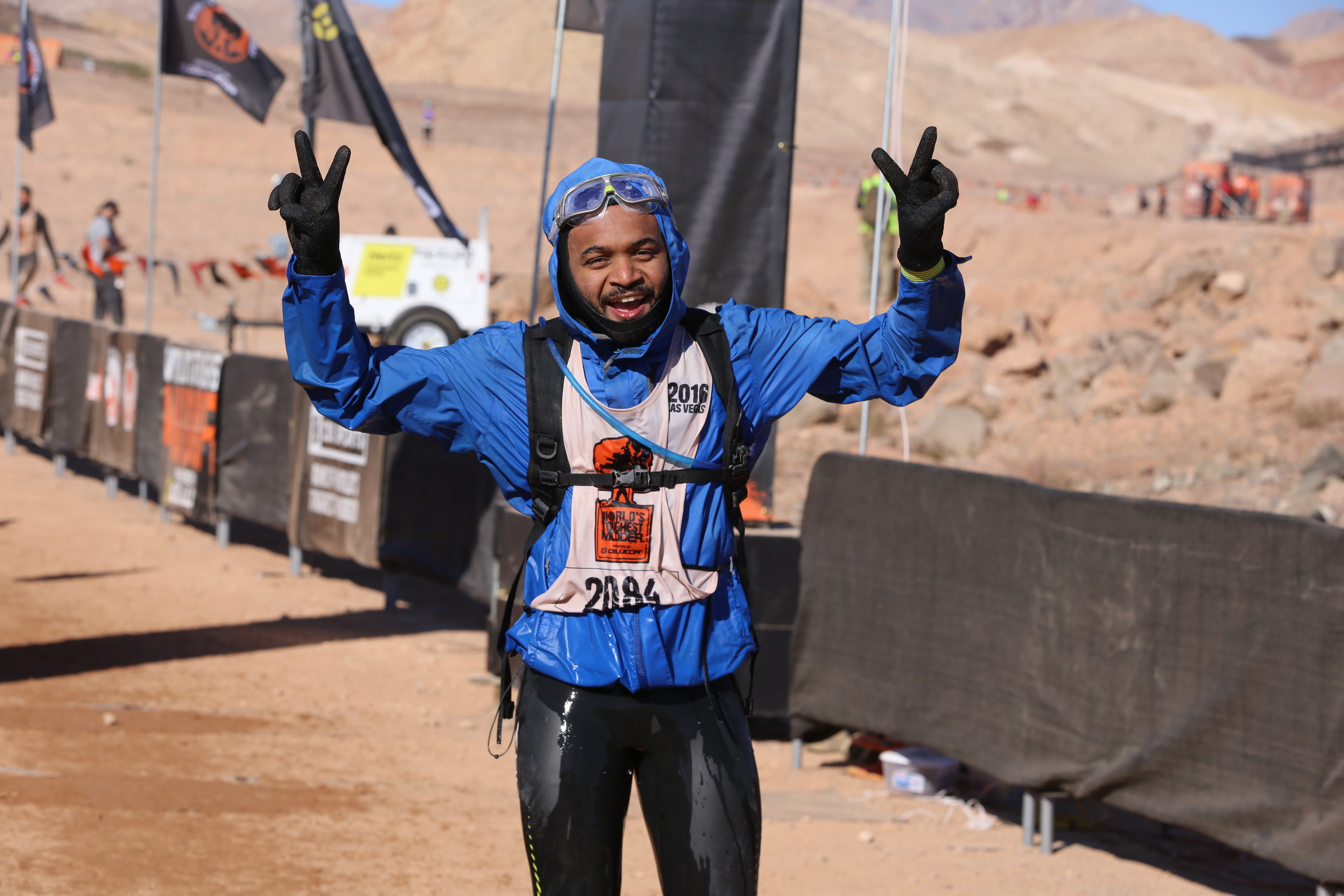world's Toughest mudder sets records