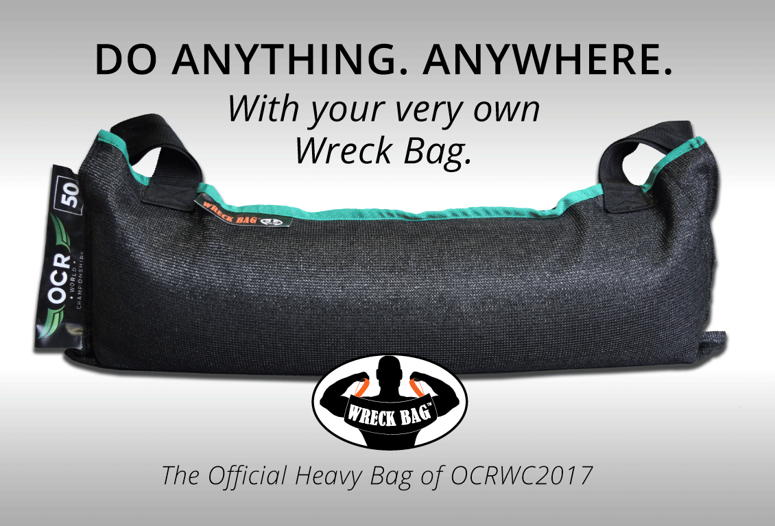 wreck bag named official heavy bag of us ocr championships and ocrwreck bag has been a favorite for many obstacle racers since it was first introduced to the obstacle racing market the heavy bag stands out from the rest