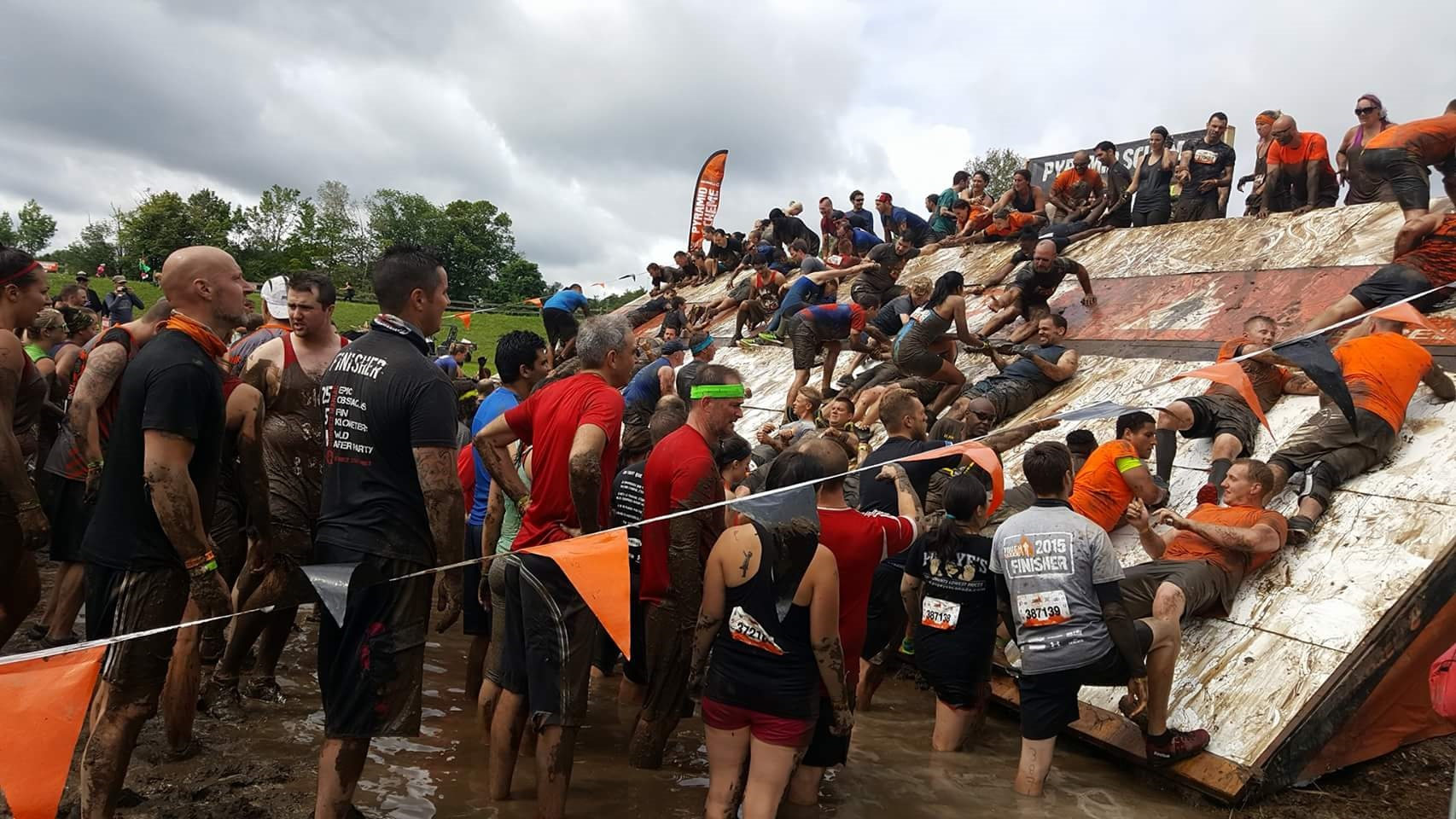 Tough Mudder Half Toronto Canada