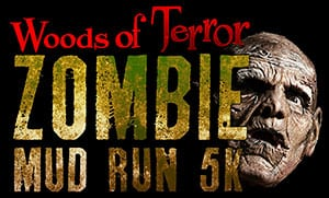 Woods of Terror Zombie Mud Run