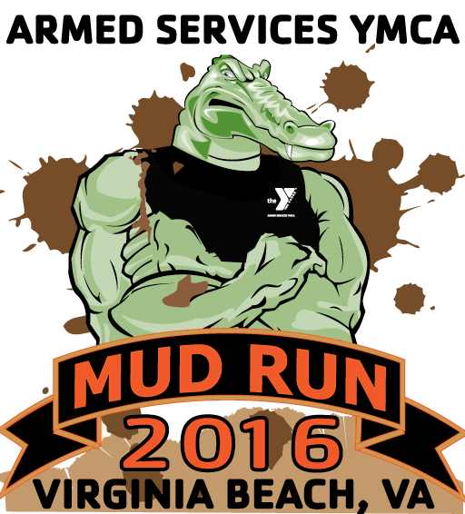 Armed Services YMCA Mud Run