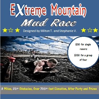 Extreme Mountain Mud Race