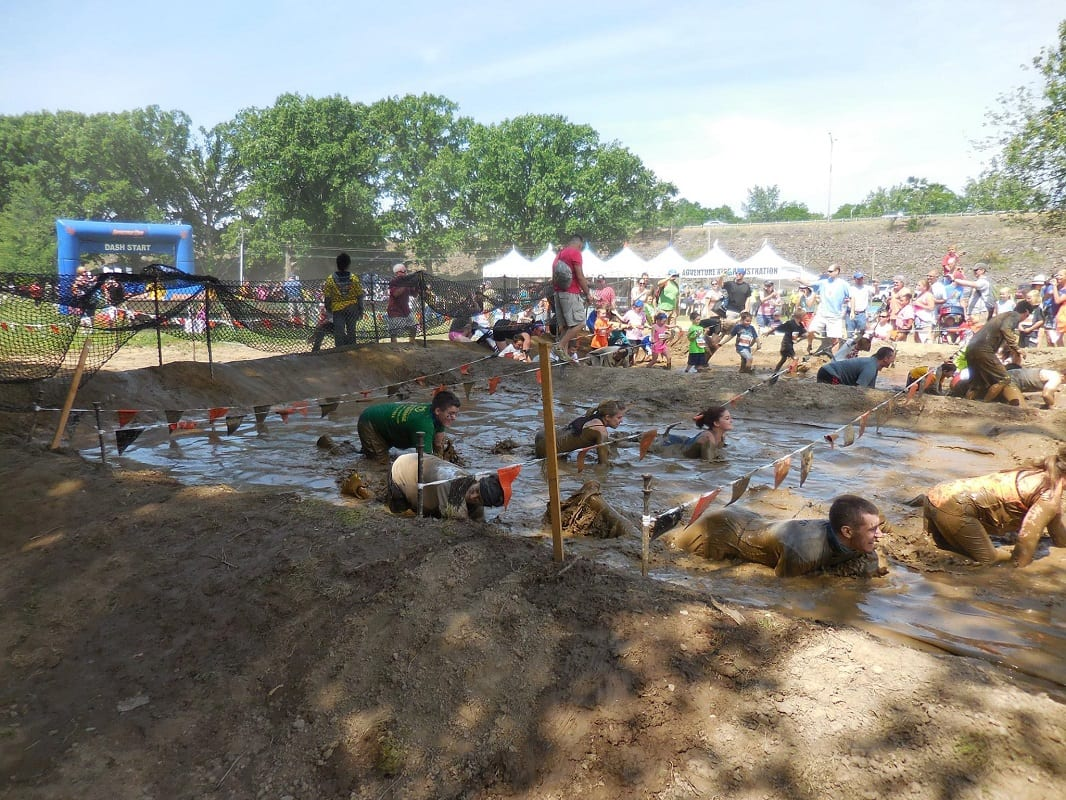 how to train for a mud run obstacle course