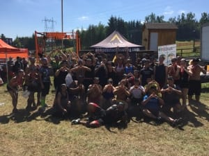 Members of Covenant House at Spartan Race