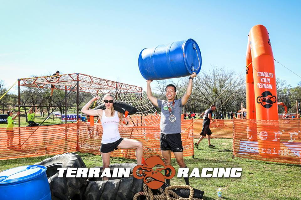 Race Recap Terrain Mud Run Dallas Tx Mud Run Obstacle
