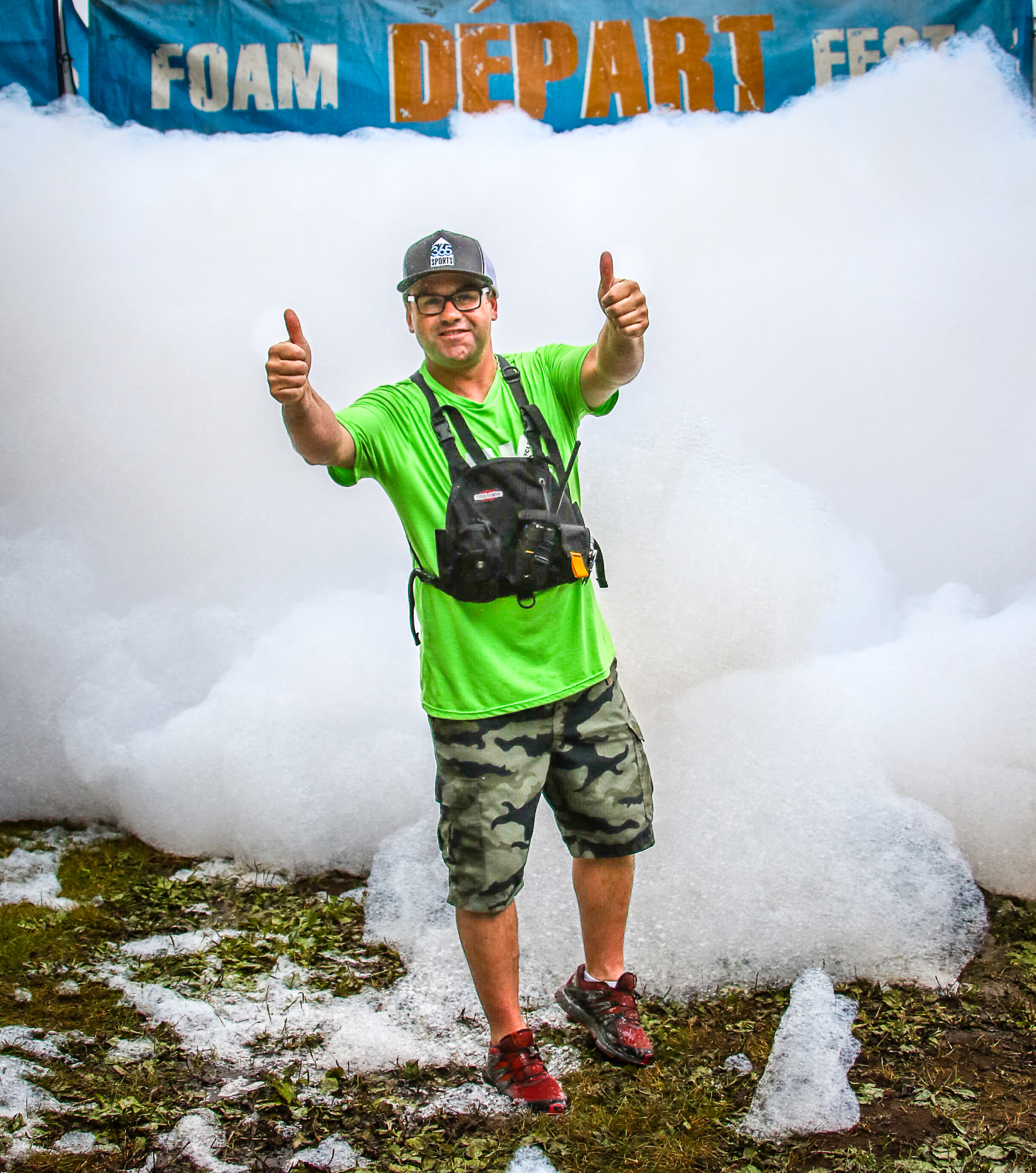 5K Foam Fest USA Return